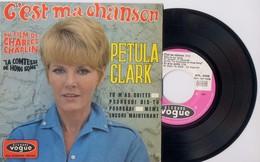 EP 45tours : PETULA CLARK : C'est Ma Chanson (1967) - Vinyles
