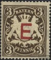 Bavaria D1 Unmounted Mint / Never Hinged 1908 State Emblem - Bavaria