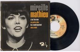 EP 45tours : MIREILLE MATHIEU : Mon Credo (1966) - Vinyl Records