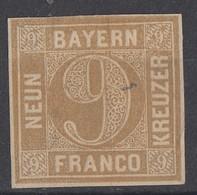 Bayern Minr.11 Ohne Gummierung - Bayern