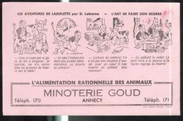 Buvard Minoteries GOUD - Annecy - Très Bon état - Non Classés