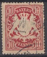 Bayern Minr.56 Plf.I Gestempelt - Bayern