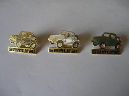 3 Pin's SUZUKI SAMURAI - Other