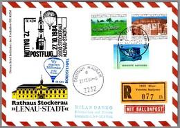 72 BALLONPOSTFLUG - CORREO VOLADO EN GLOBO. Wien 1984 - Correo Postal