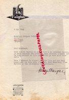 49-ANGERS- LETTRE L' AIGLON - AIGLE- JOS BAYON 55 RUE DES JARDINS- A JACQUES FRESNAY CIRIER COUPTRAIN-MAYENNE  1943 - Petits Métiers