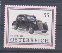 """Österreich 2006: """"Autos"""" Postfrisch (siehe Scan/Foto) - 1945-.... 2. Republik"""