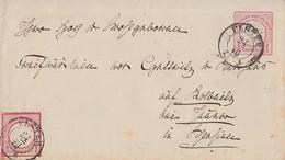 DR GS-Umschlag 1 Gr. Zfr. Minr.19 Elster 21.7. - Deutschland