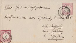 DR GS-Umschlag 1 Gr. Zfr. Minr.19 Elster 21.7. - Briefe U. Dokumente