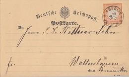 DR Karte EF Minr.18 K1 Berlin 7.11.73 - Briefe U. Dokumente