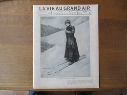 LA VIE AU GRAND AIR N°328 22 DECEMBRE 1904 FRANK KRAMER COUREUR,ESCRIME,LA CEINTURE D'OR, BROUETTES A PEDALES EN CHINE - Livres, BD, Revues