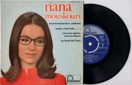 EP 45tours : NANA MOUSCOURI : Coucouroucoucou Paloma - Vinyles