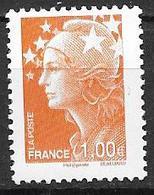"""France 2009 N° 4418 Neuf Issu Du Bloc """"couleurs De Marianne"""" à La Faciale Faciale - France"""