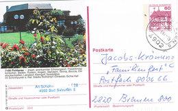 Deutschland - Germany - Bildpostkarte Fichtenau - Tourismus - Gestempelt In Bad Salzuflen - Stationary - Bildpostkarten - Gebraucht
