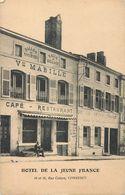 COMMERCY RUE COLSON HOTEL DE LA JEUNE FRANCE CAFE RESTAURANT MABILLE 55 - Commercy