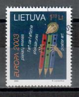 Litauen / Lithuania / Lituanie 2003 EUROPA Gestempelt/used - Europa-CEPT