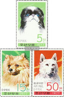 North-Korea 1662A-1664A (complete Issue) Unmounted Mint / Never Hinged 1977 Dogs - Korea, North