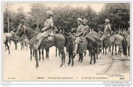 MILITARIA GUERRE 1914-18  Groupe De Muletiers  .......... 1914 - Guerre 1914-18