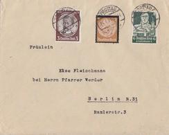 DR Brief Mif Minr.540,548,559 Sprottau 14.1.35 - Deutschland