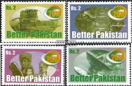 Pakistan 1017-1020 (completa Edizione) MNH 1998 Entwicklungsprogramm - Pakistan