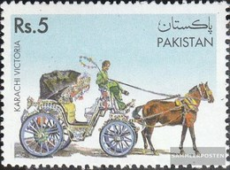 Pakistan 930 (complete Issue) Unmounted Mint / Never Hinged 1995 Coach - Pakistan