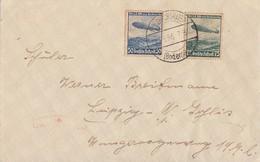 DR Brief Mif Minr.606,607 Friedrichshafen 23.3.36 - Deutschland