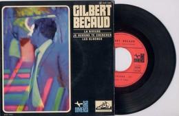 EP 45tours : GILBERT BECAUD : La Rivière / Je Reviens Te Chercher  (1967) - Vinyles
