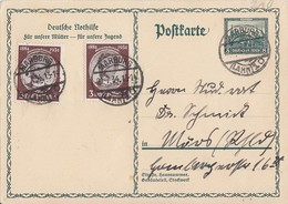DR GS Minr.P210 Zfr. Minr.2x 540 Marburg 21.7.34 - Deutschland