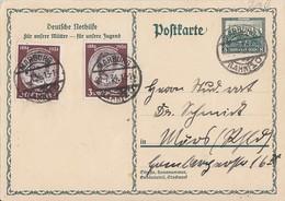 DR GS Minr.P210 Zfr. Minr.2x 540 Marburg 21.7.34 - Briefe U. Dokumente