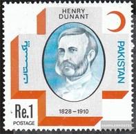 Pakistan 451 (kompl.Ausg.) Postfrisch 1978 Dunant - Pakistan