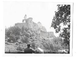 VIANDEN (Luxembourg) Photographie Vue Du Chateau 1932 - Vianden
