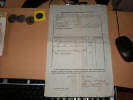 Serbian Woiwodschaft  SArbsko Vojvodstvo I Temiski Banat 1852 Futtak  Anton Farago - Documenti Storici