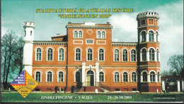 Latvia 597MH (complete.issue.) Stamp Booklet With 6x597D Unmounted Mint / Never Hinged 2003 Castles - Latvia