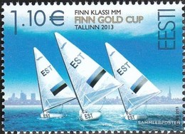 Estonia 770 (complete Issue) Unmounted Mint / Never Hinged 2013 Sailing - Estonia