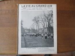 LA VIE AU GRAND AIR N°279 14 JANVIER 1904 LE CHALLENGE LEMONNIER,LES ETAPES DE L'AUTOMOBILE,LA SALLE D'ARMES DE LA PREF - Livres, BD, Revues
