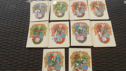 LOT  N° 381 / LOT DE 90 CPSM   12 X 17 THEME Horoscope  Illustre BEATRICE D'ESTE  NEUVES - Postcards