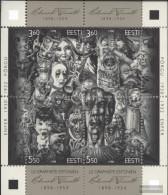 Estonia Block12 (complete Issue) Unmounted Mint / Never Hinged 1998 Wiiralt - Estonia