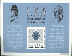 Estonia Block7 (complete.issue.) Unmounted Mint / Never Hinged 1994 Festival Singers - Estonia