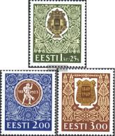 Estonia 225-227 (complete.issue.) Unmounted Mint / Never Hinged 1994 Festival Singers - Estonia