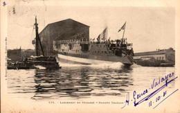 """Lancement Du Cuirassé """"Dupetit Thouars"""" - Warships"""