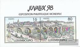Luxemburg Block17 (kompl.Ausg.) Gestempelt 1998 Stadt Luxemburg - Blocks & Kleinbögen