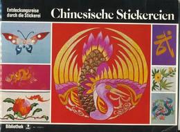 Chinesische -  Stickerein - Point De Croix