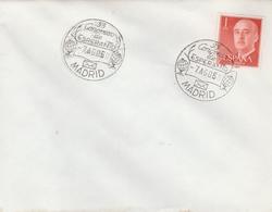 LSC 1968 - Timbre ESPANA- Cachet ESPERANTO - MADRID - Esperanto