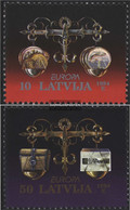 Latvia 376-377 (complete.issue.) Unmounted Mint / Never Hinged 1994 Discoveries - Latvia