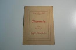 CHAMONIX Programme Hiver 1949-1950 - Programs