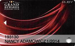 Leelanau Sands & Turtle Creek Casinos - Michigan USA - Slot Card - Casino Cards