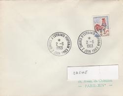 LSC 1963 -  PERPIGNAN - Cachet Congrès D' ESPERANTO - PERPIGNAN - Esperanto