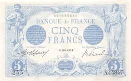 .BILLET.18- : 5 F BLEU. G.10  16.G - 1871-1952 Anciens Francs Circulés Au XXème