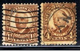 US 1241 // Y&T 292 A, 293 A // 1930-31 - Stati Uniti