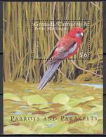 G. & Grenadines 2000 - Yv BF451 (MNH) Crimson Rosella (Platycercus Elegans) - Parrots