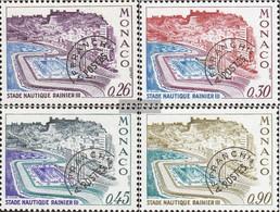 Monaco 997-1000 (complete Issue) Unmounted Mint / Never Hinged 1971 Swimming Stadium - Monaco